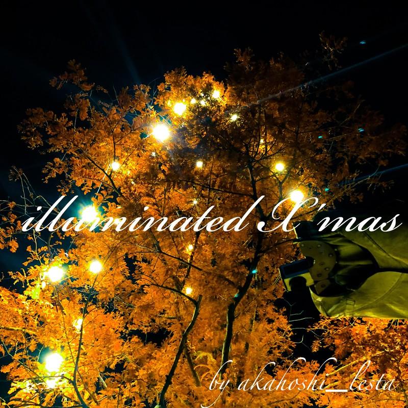 illuminated X