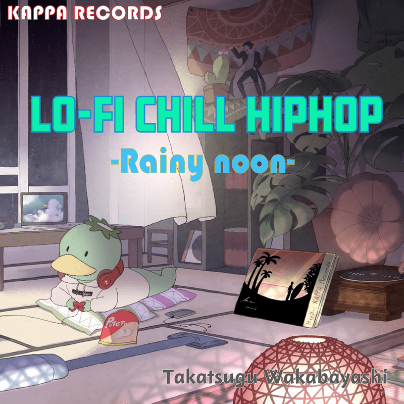 Lo-Fi Chill HipHop 2020 Spring -Rainy noon-