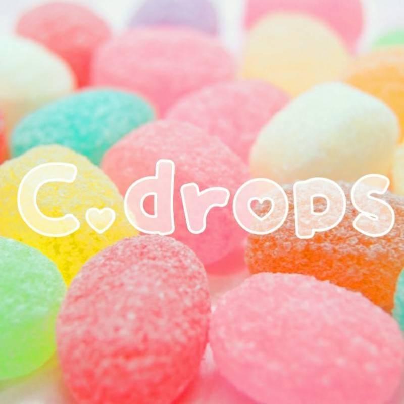 C.drops