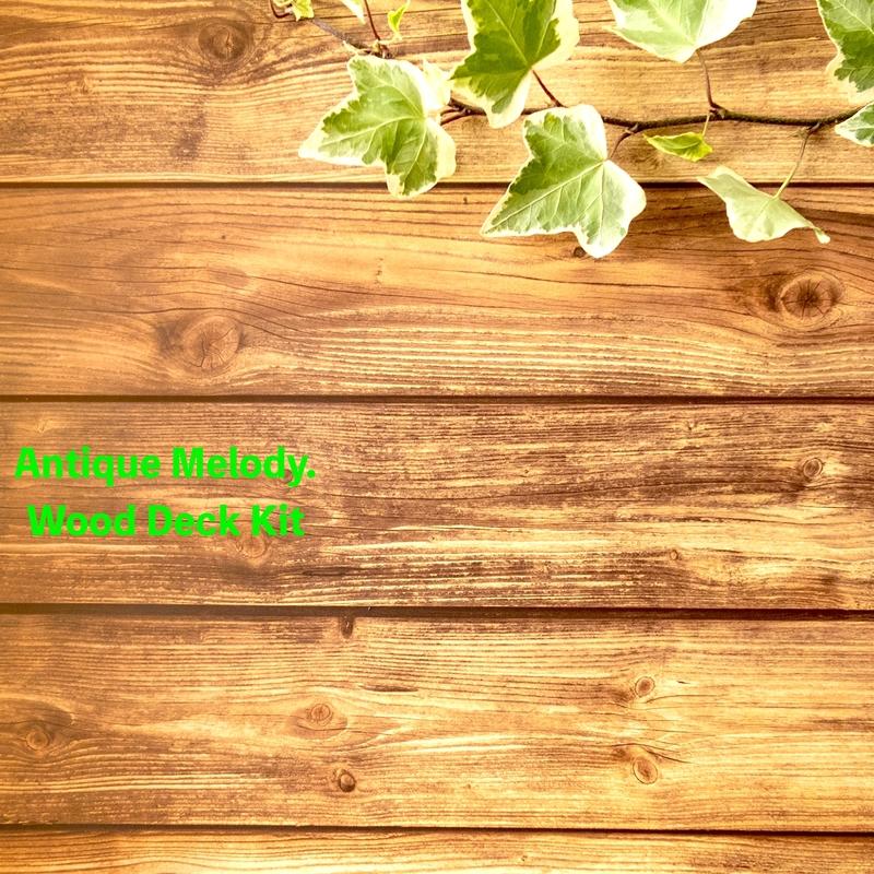 Wood Deck Kit