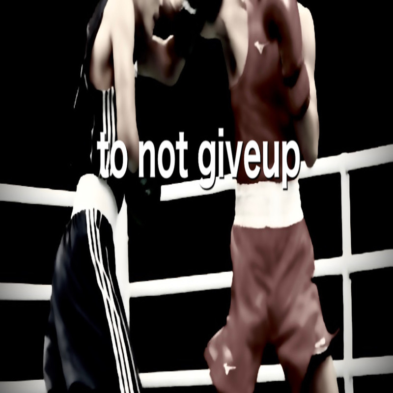 to not give up
