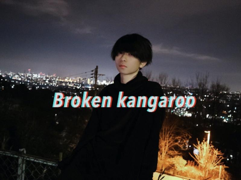 Broken kangaroo