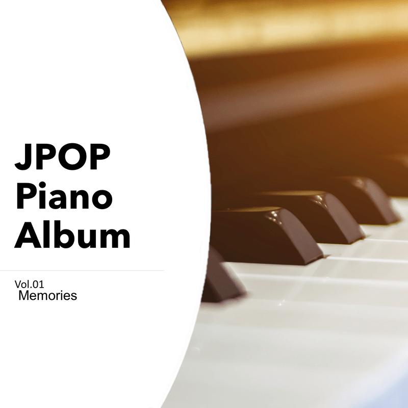 JPOP Piano Album Vol.01 Memories