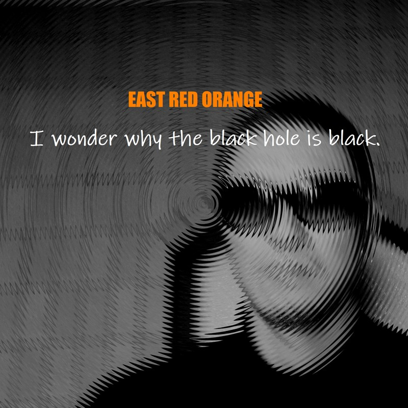 I wonder why the black hole is black. (black hole party mix)
