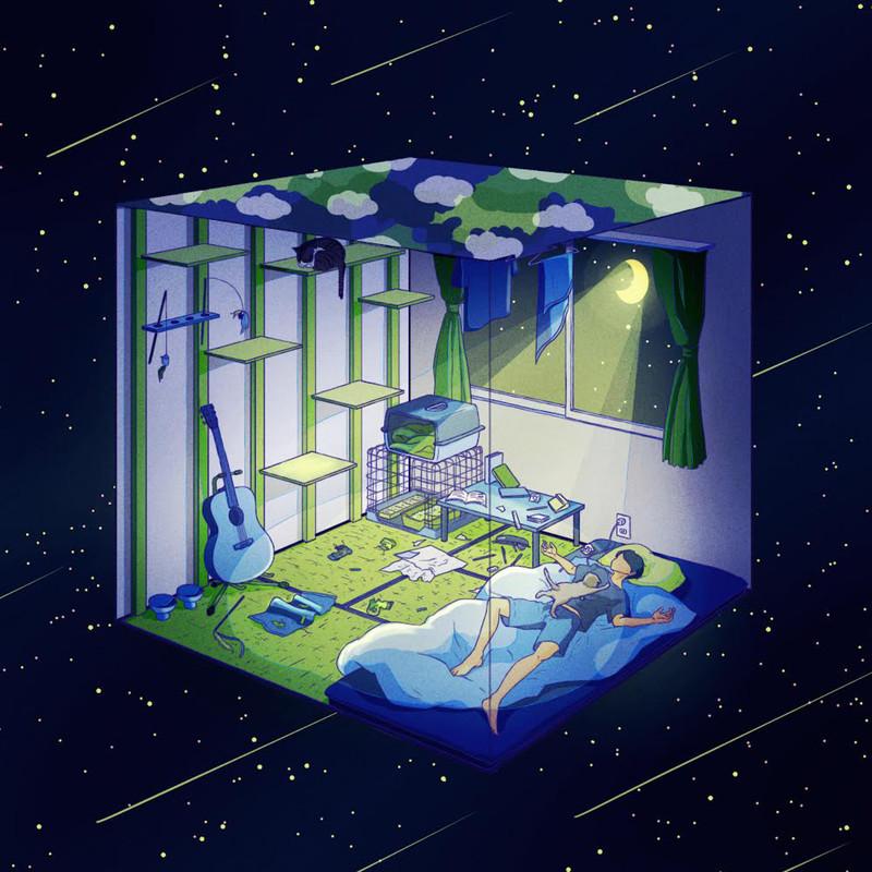 四角い地球