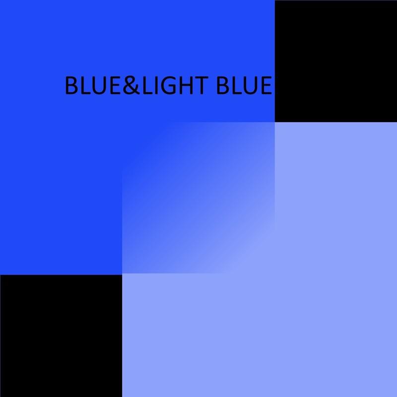 BLUE & LIGHT BLUE