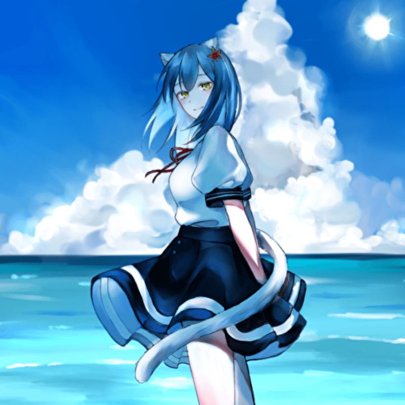 夏。風鈴の蒼
