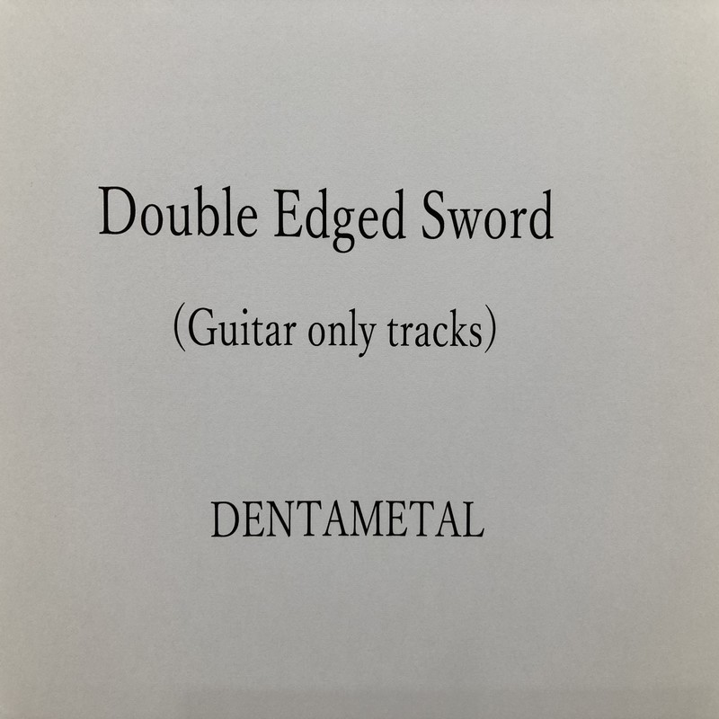 Double Edged Sword (Guitar only tracks)