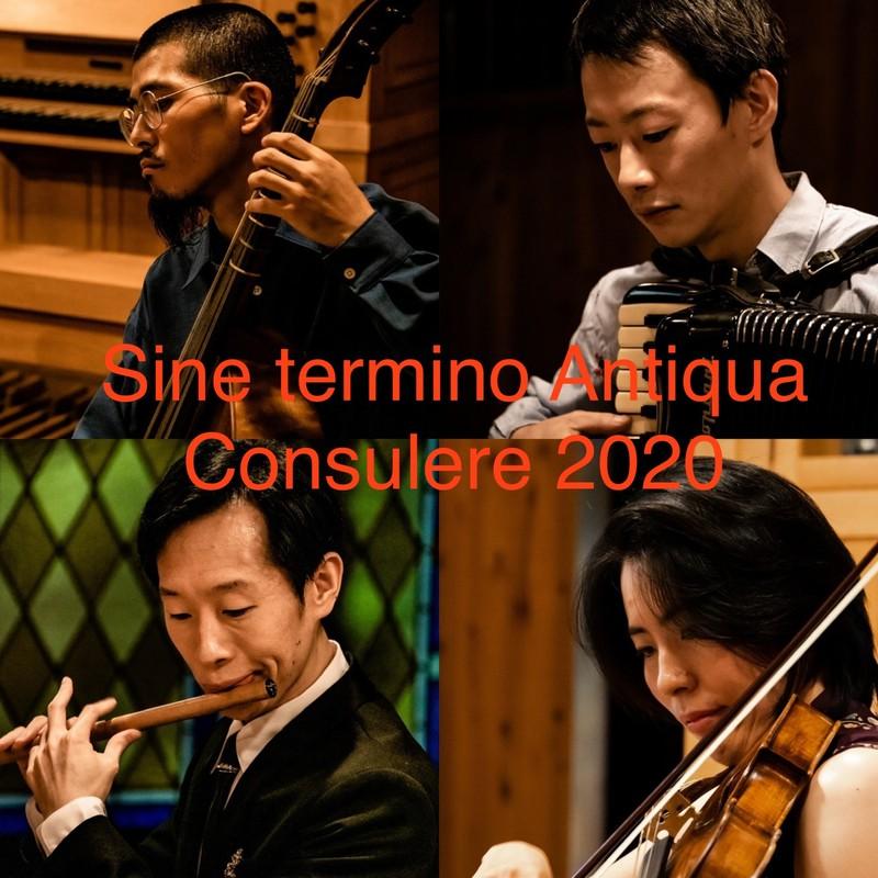 Sine termino Antiqua Consulere 2020