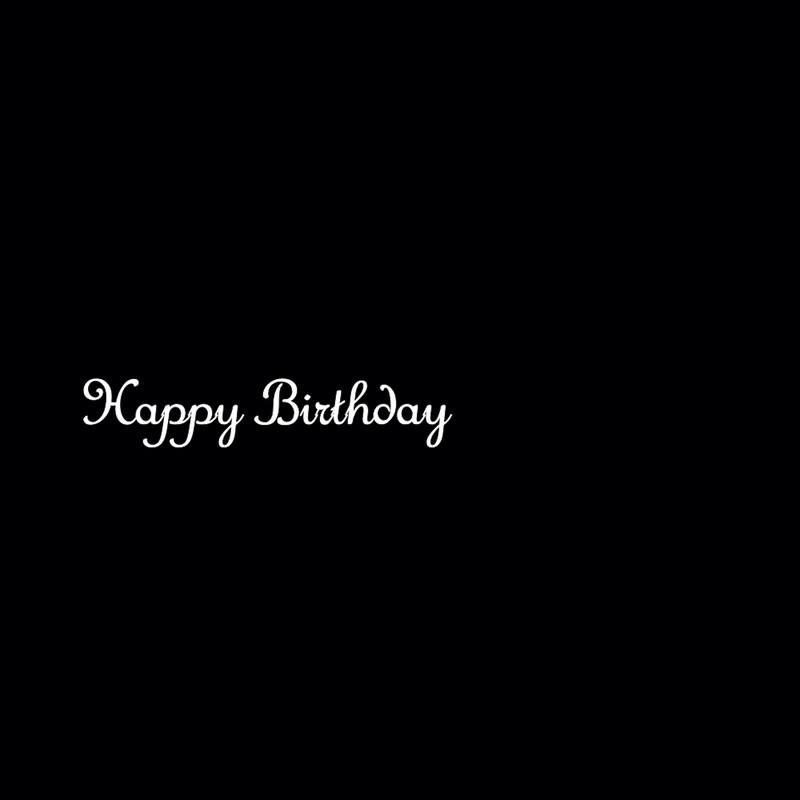 Happy Birthday To MK