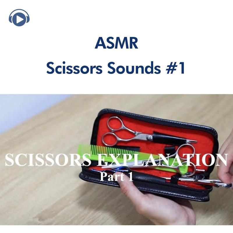 ASMR - 美容師道具&シザーの音#1