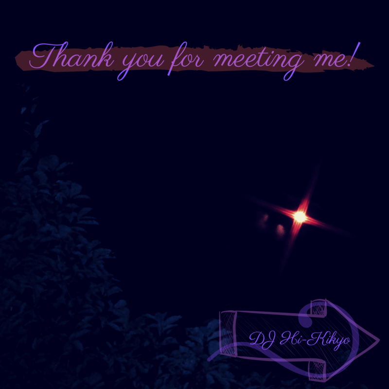 Thank you for meeting me!