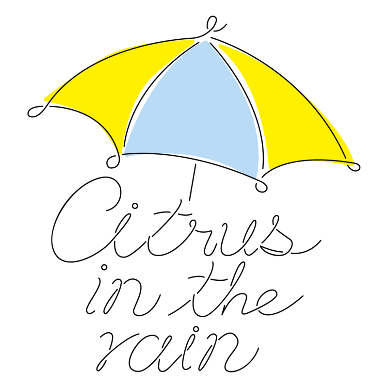 Citrus in the rain