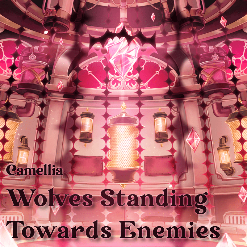 Wolves Standing Towards Enemies