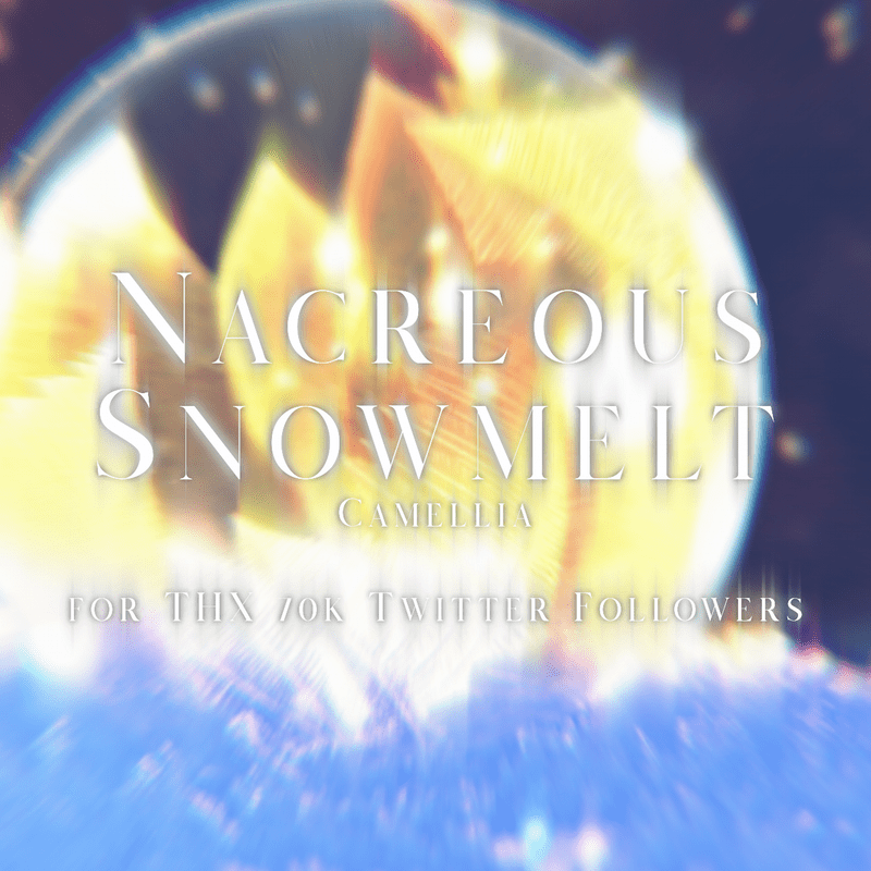 Nacreous Snowmelt