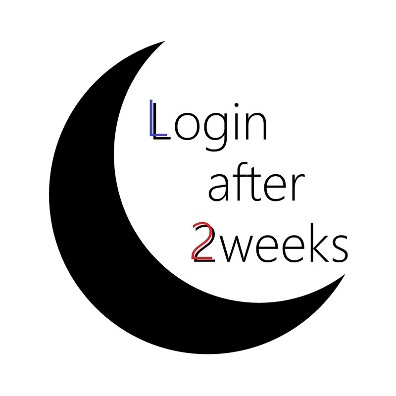 Login after 2weeks