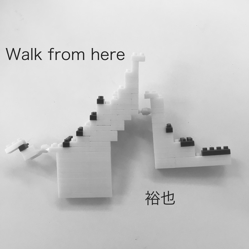 Walk from here