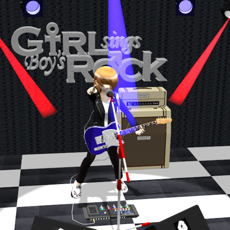 Girl sings Boy