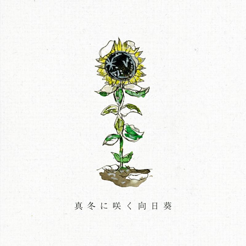 真冬に咲く向日葵