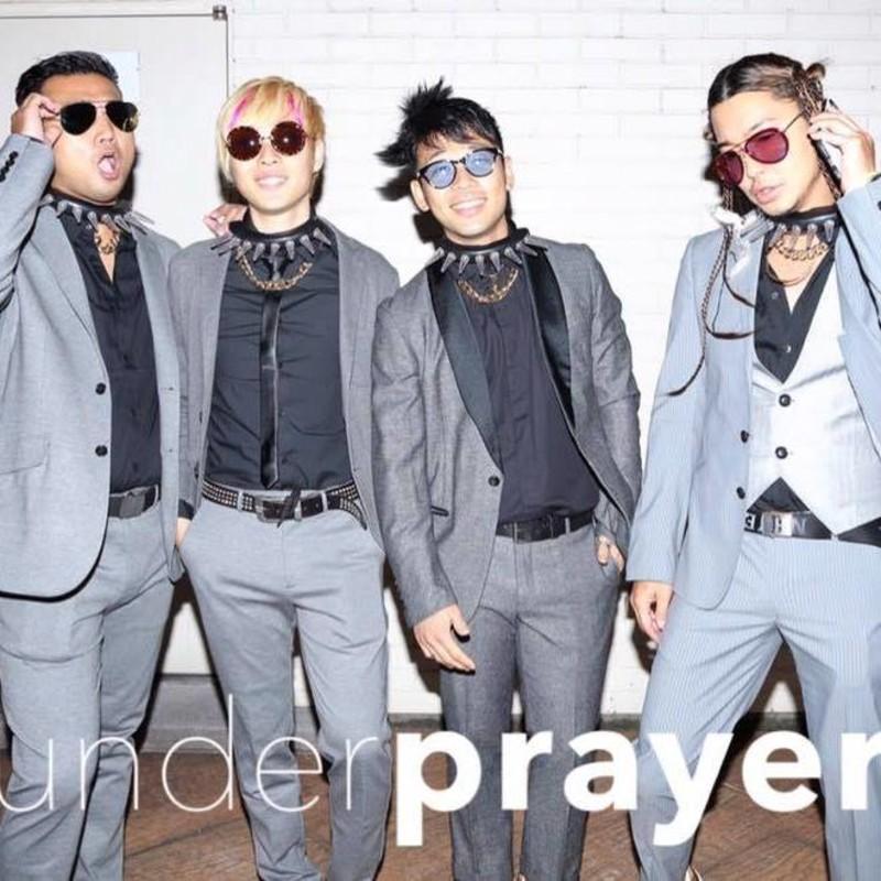 under prayer