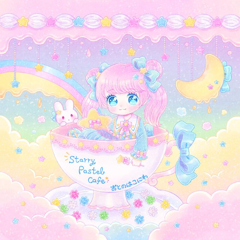 Starry Pastel Cafe
