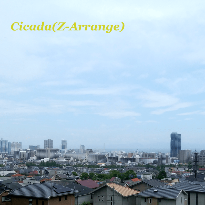 Cicada (Z-Arrange)
