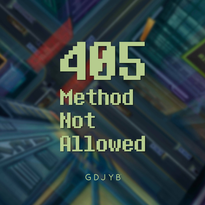 405 Method Not Allowed