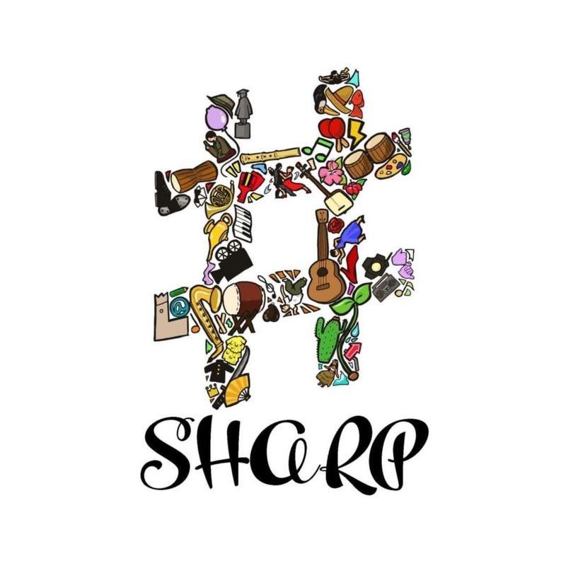 SHARP♯ & 井原理紗子