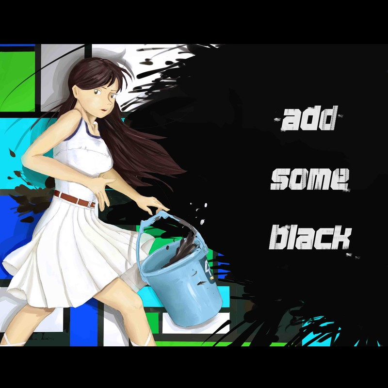 ADD SOME BLACK