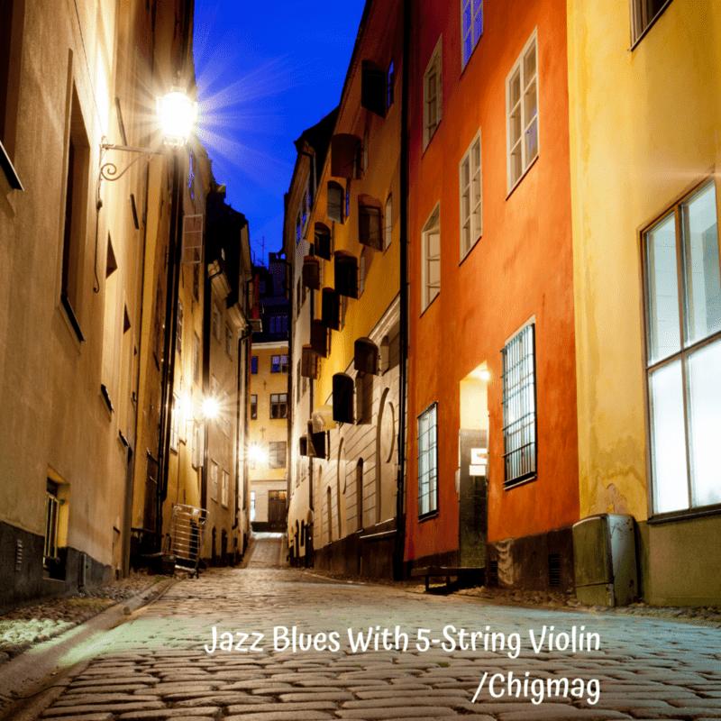 5弦バイオリンのためのジャズブルース