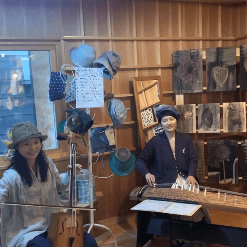 2019年4月27日ライブ 木の芽どき展