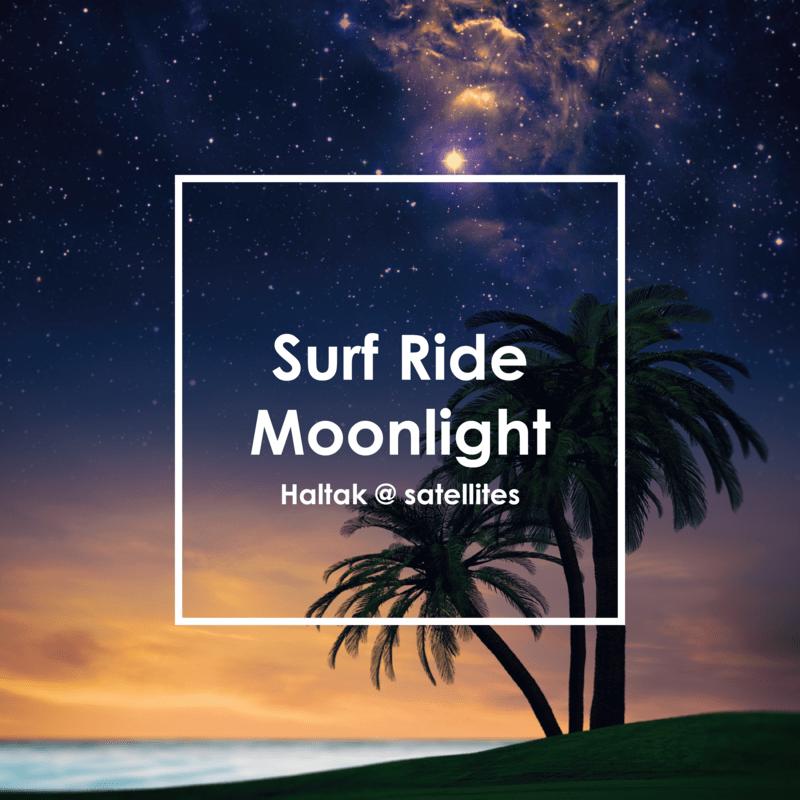 Surf Ride Moonlight