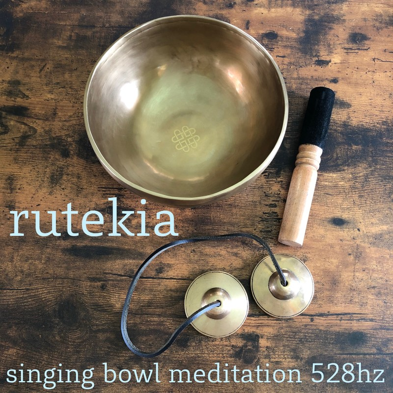 singing bowl meditation 528hz