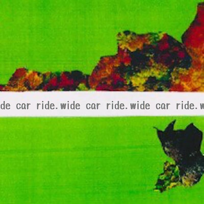 Wide car ride