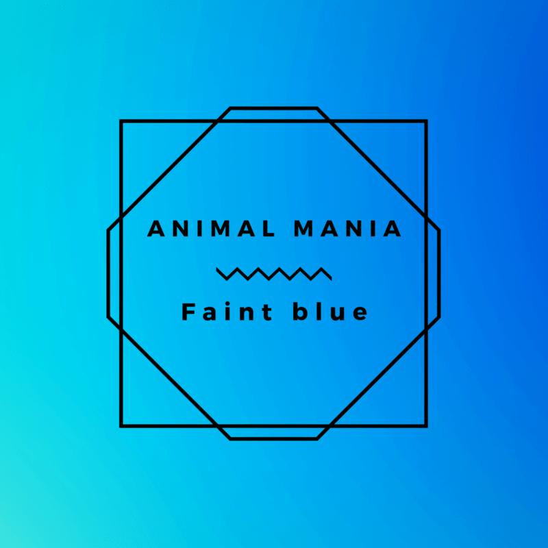 Faint blue