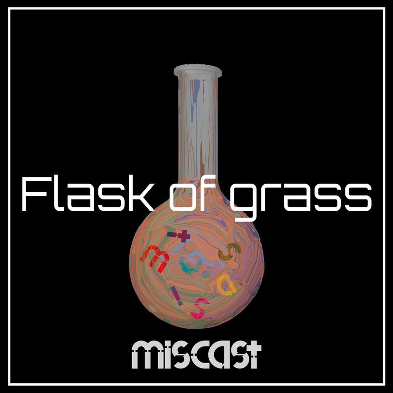 Flask of grass