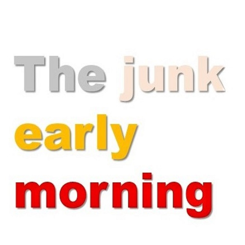 The junk early morning