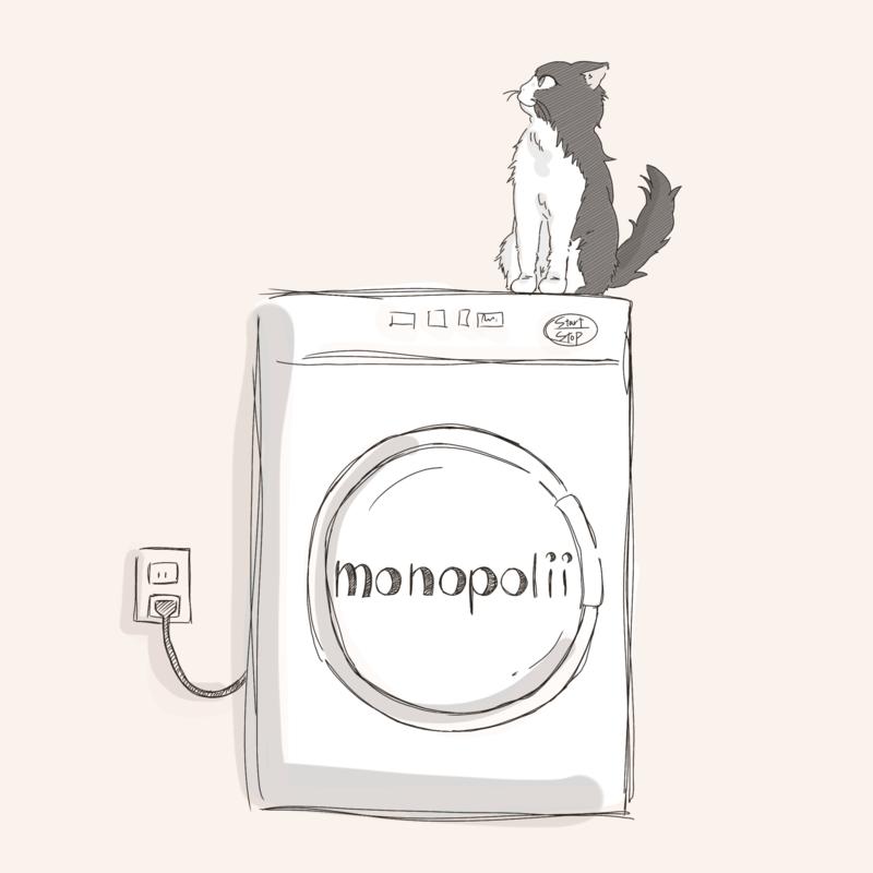 猫と洗濯機
