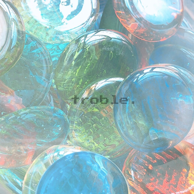 troble. -pool side-