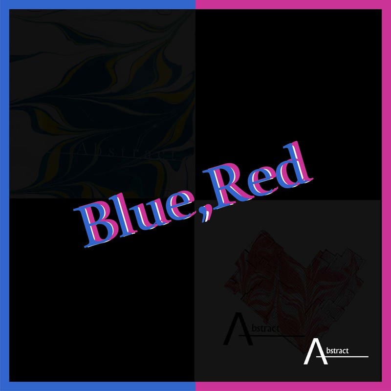 Blue, Red