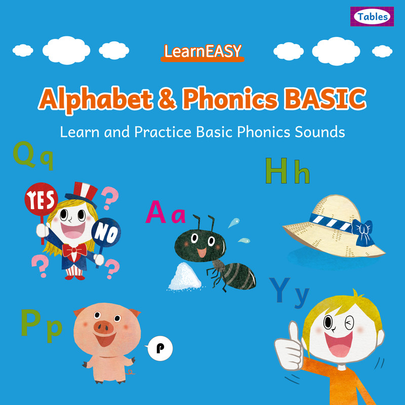 LearnEASY Alphabet and Phonics BASIC