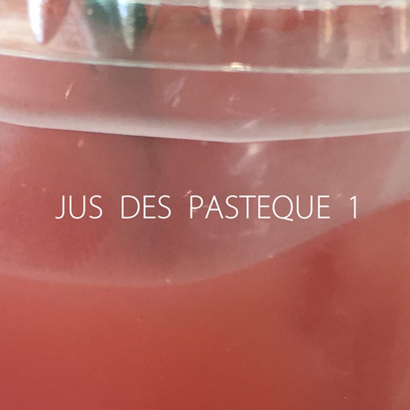 JUS DES PASTEQUE 1
