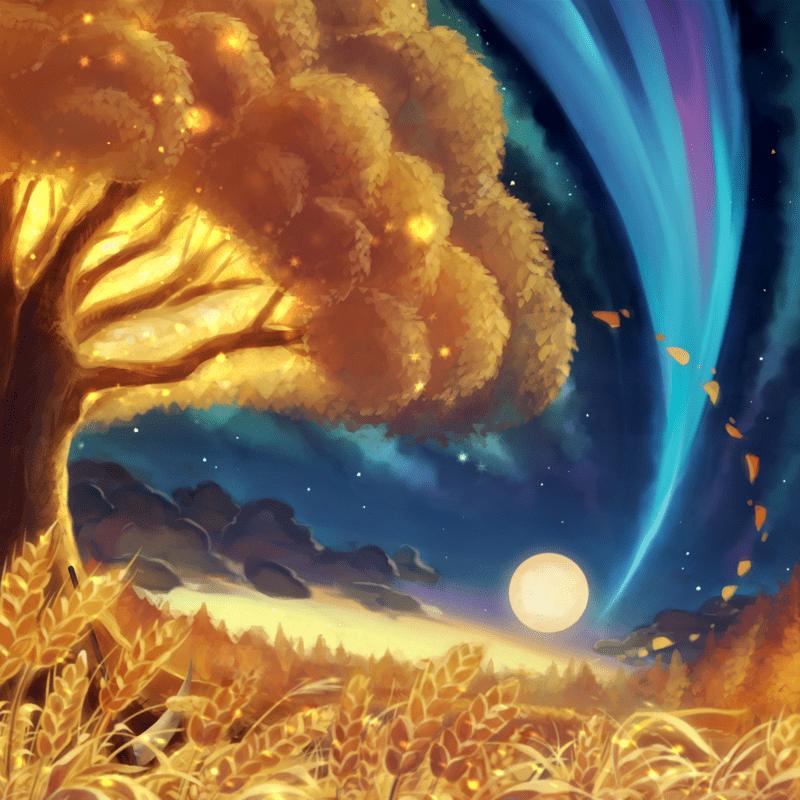 Woods In The Twilight