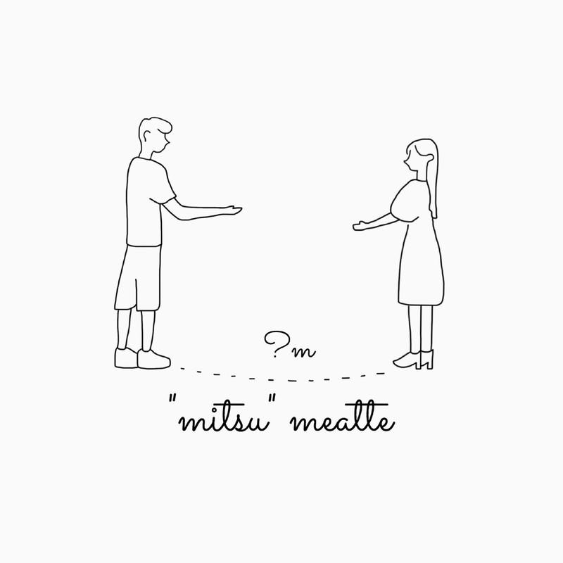 """mitsu""meatte"