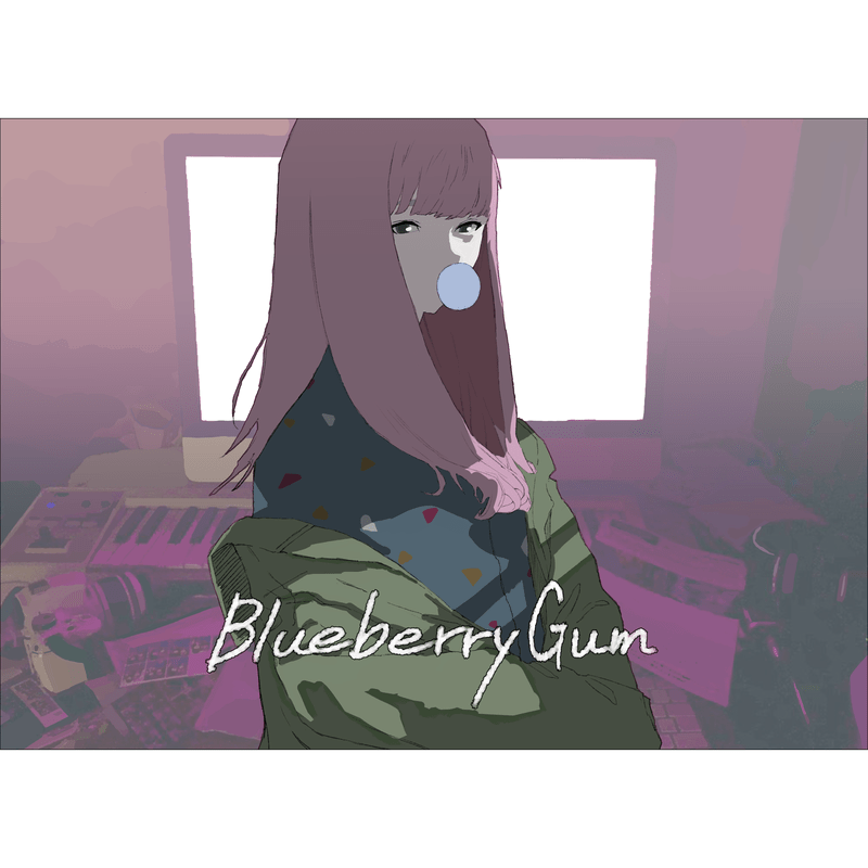 Blueberry Gum
