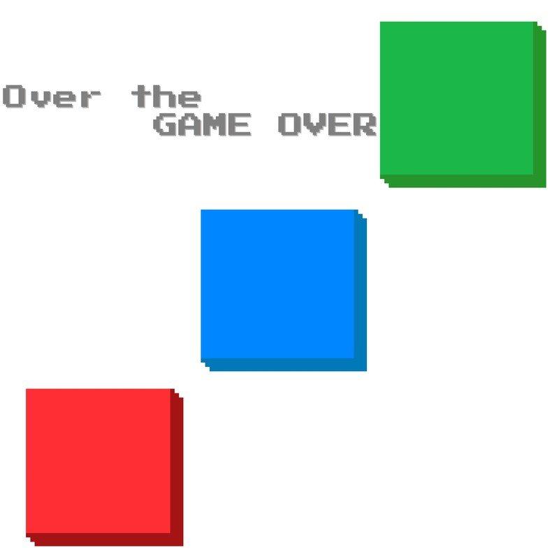Over the GAME OVER
