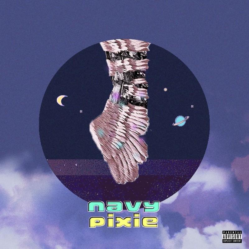 navy pixie