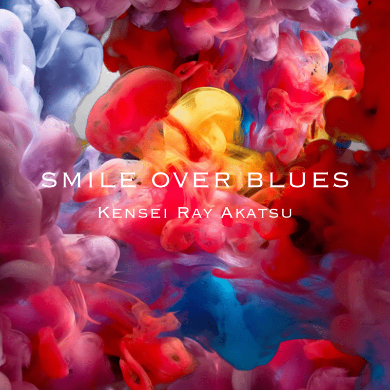 Smile over blues